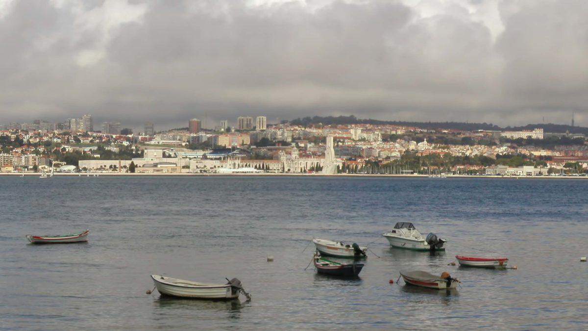 Marina in Lisbon
