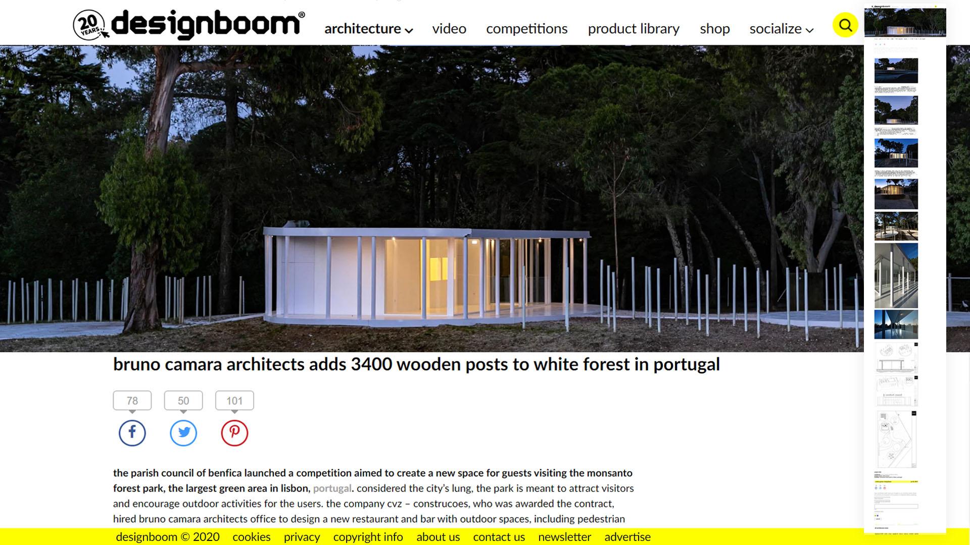 Design Boom, Contemporary Architecture Lisbon