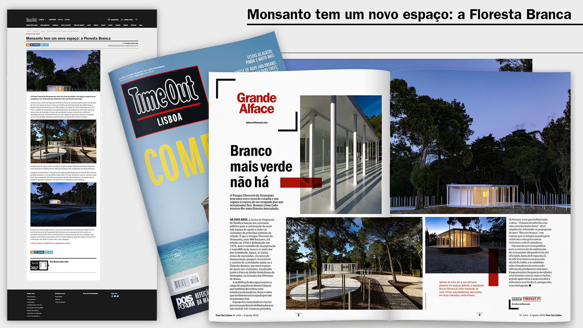 Architecture Project White Forest, Monsanto